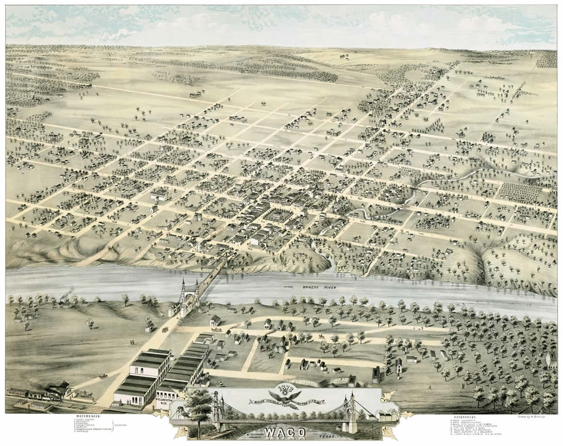 Historic Waco Map